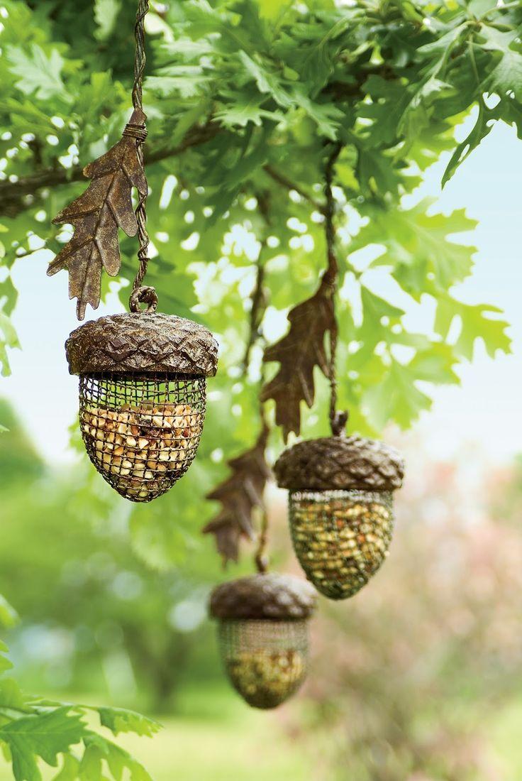 Beautiful Acorn Birdfeeders   See More Pictures