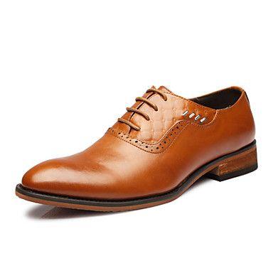 Férfi cipő Bőr Félcipő