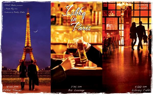 """Priety Zinta's""""Ishq in Paris"""" First Look. 