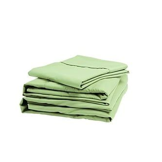 Denver 343521 RV Short Queen Size Microfiber Sheet Set Sage (Green)