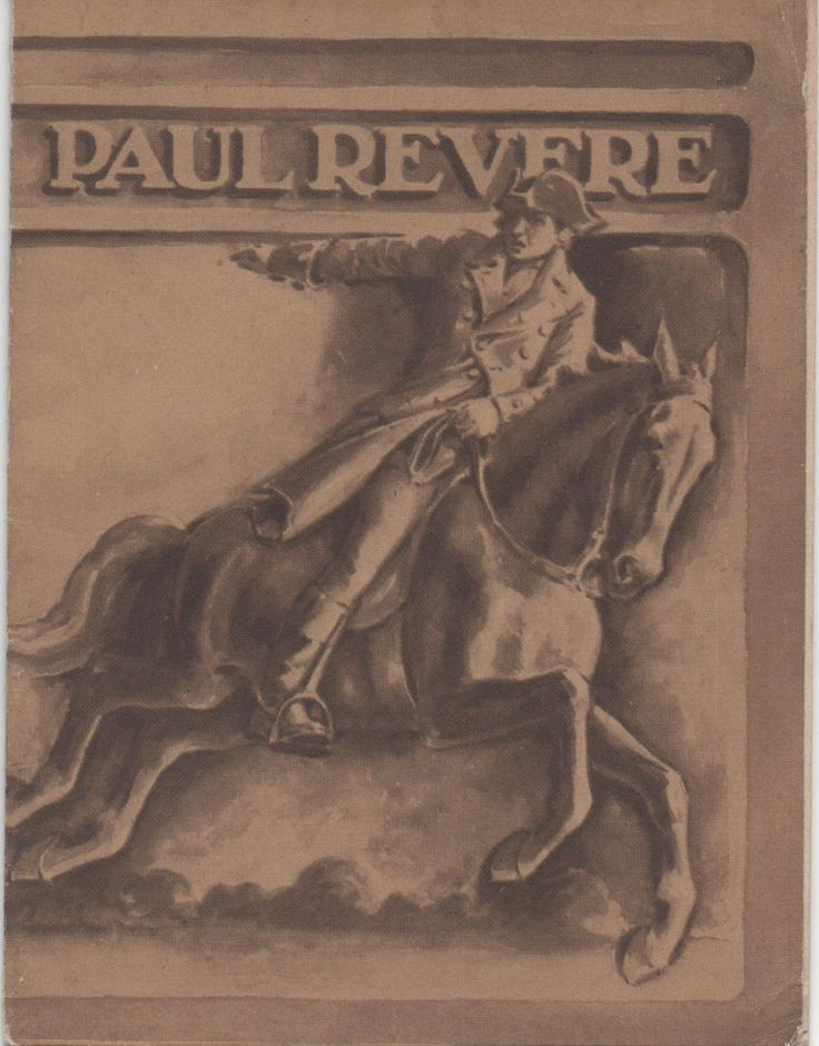 Small booklet, Biography of Paul Revere, Published by John Hancock Mutual Life Insurance Company, Boston, MA, 1930, illustrated, 16 pages by VintageNEJunk on Etsy