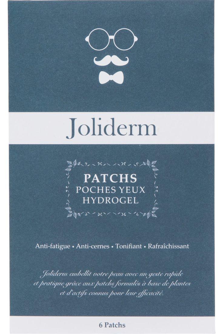Joliderm - Patchs Poches Yeux Hydrogel Homme - Birchbox