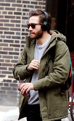 """Jake Gyllenhaal out in NYC """