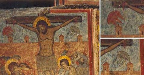 Peintures : des ovnis présents lors de la crucifixion du Christ ? - Le Nouveau Paradigme