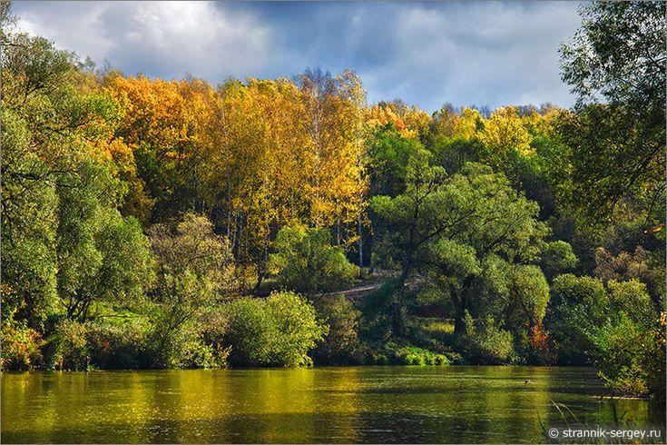Места Подмосковья - река Нара