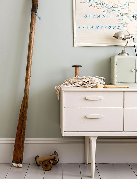 FARROW & BALL Light Blue No. 222 Find it at Palette Paint and Home! http://palettepaint.com/shop/light-blue-22/