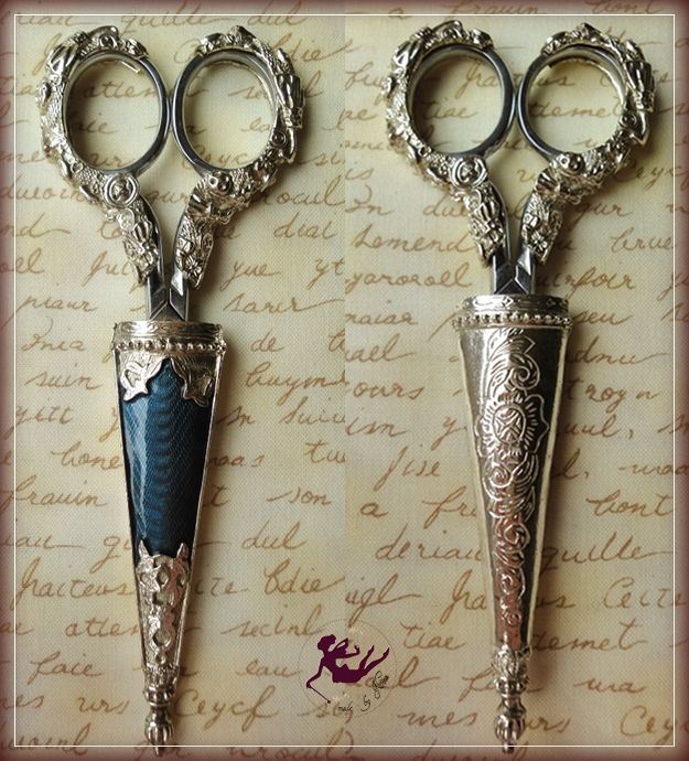my most beautiful embroidery scissors  my favorite pair!  by Nina