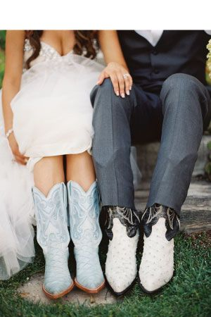His and her cowboy boots | California Wedding Day magazine | Expressionary Events wedding planners