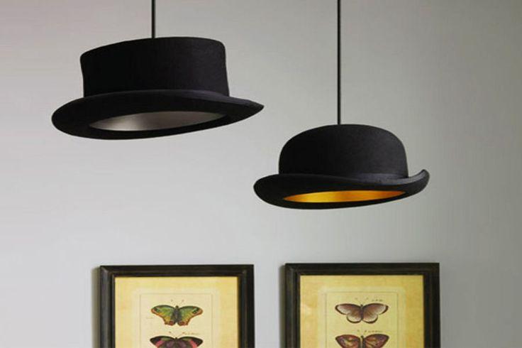 Des lampes chapeau : Des idées de lampes faciles à fabriquer - Linternaute