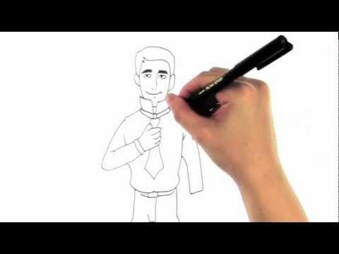 Bind Slips - Sådan Binder Du Slips (Håndtegnet Video)