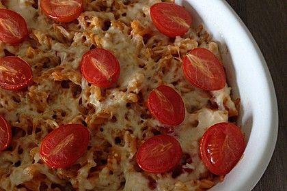 Schneller  Nudelauflauf, ein schmackhaftes Rezept aus der Kategorie Pasta. Bewertungen: 222. Durchschnitt: Ø 4,3.