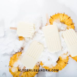 Pina Colada Ice Creams — alyce alexandra