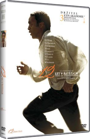 Film 12 let v řetězech na DVD / Twelve Years a Slave dvd.