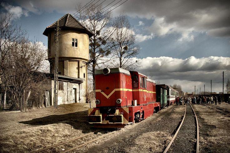 Lokomotywa Górnośląskiej Kolei Wąskotorowej w Bytomiu
