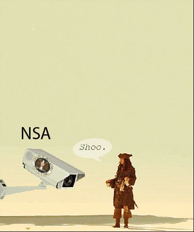 """Jack Sparrow - """"Pirates of the Caribbean"""" and NSA GIF"""