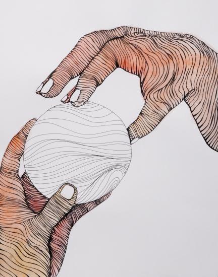 Cross Contour Line Drawing Face : Best images about contour line lessons on pinterest