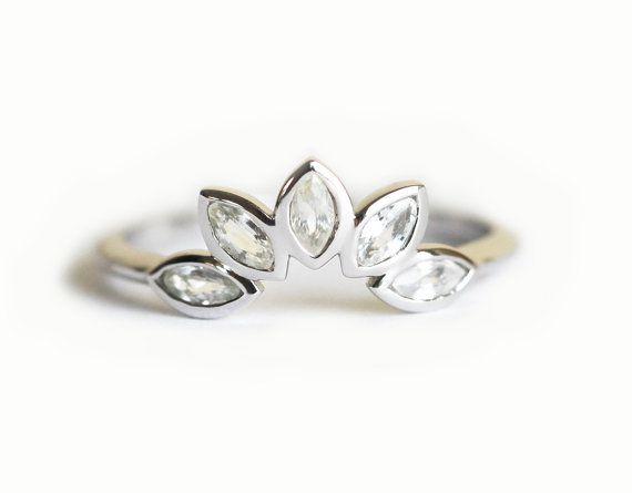 Corona anillo anillo corona de Marqués venda de boda de