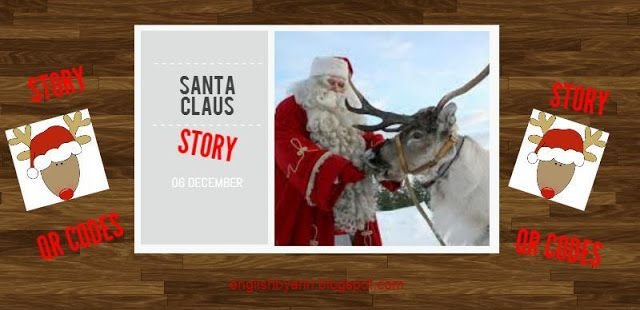 English by Ann: Santa Story with QR Codes