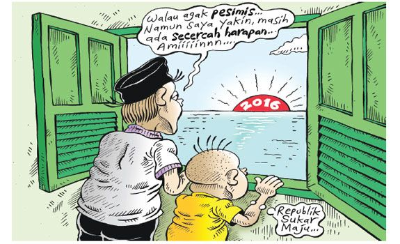 Mice Cartoon, Rakyat Merdeka - Desember 2015: Republik Sukar Maju