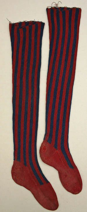 New Cotton Striped Stockings, Oh YEAH! ~ American Duchess