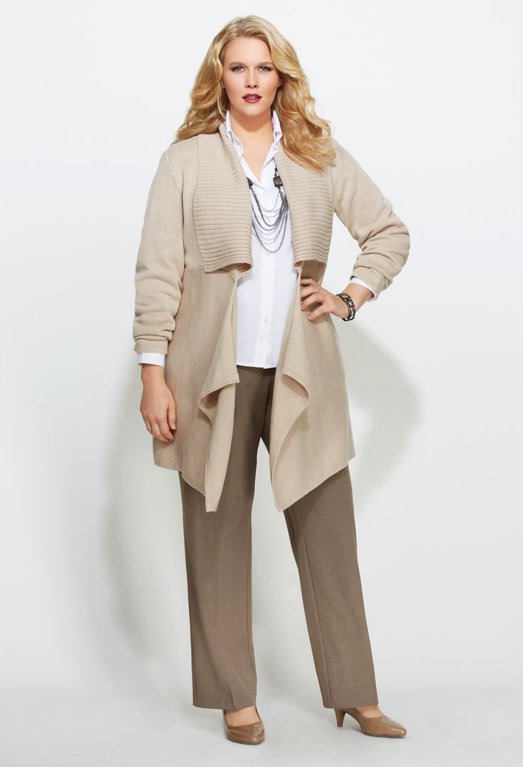 Professional clothes for plus size women