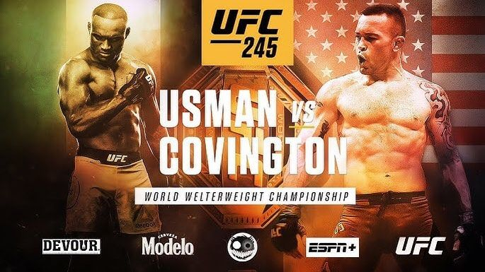 Ladies Gentlemen It Is Official Finally Ufc 245 Now Has 3 Championship Fights Usman Vs Covington Is Done Set For Ufc 245 From Las Vega Ufc Playbill Mma