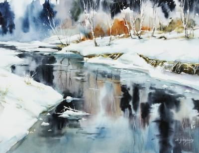 Watercolor Workshop with Maria Ginzburg, Sweden