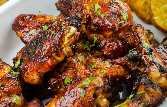 Maple Glazed Chicken. Let me say that again, Maple Glazed Chicken! Just writing that makes me hungry because it's just so very good.