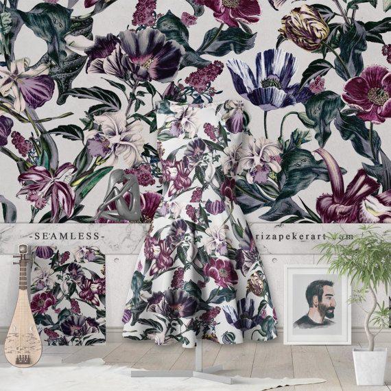 #fashion #pattern #wallpaper #art #printable #etsy