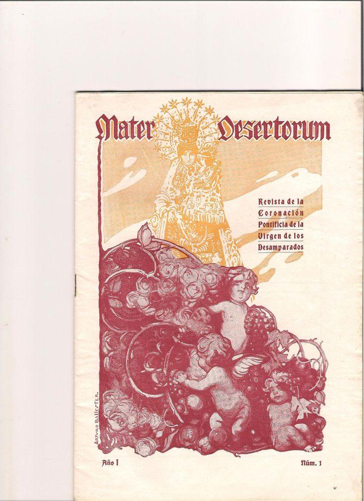Trata de la coronación de la virgen de los desamparados.