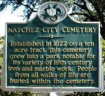 Natchez City Cemetery: