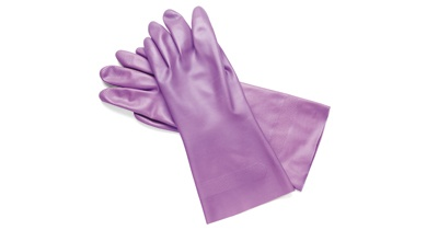 IMS Lilac Utility Gloves - OSHA Bloodborne Pathogen Compliant!