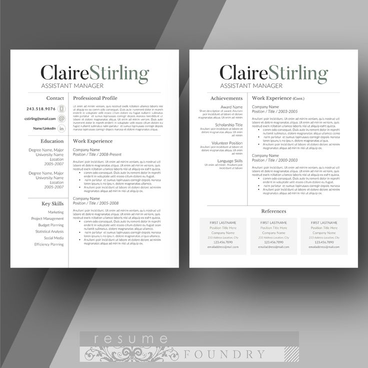 11 best Resume Ideas images on Pinterest Graphics, Business - professional resume fonts