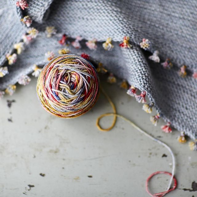 Something so sweet is coming next week for you. A lovely new free pattern from Loop to you.