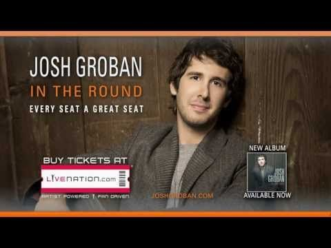 Josh Groban's 2013 In the Round Tour is coming to Van Andel October 22nd!