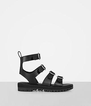 ALLSAINTS Raquel Sandal. #allsaints #shoes #