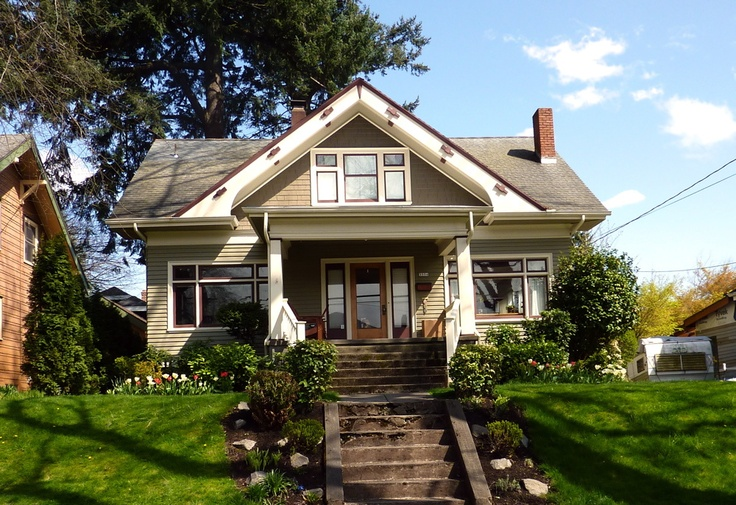 Bungalow for Craftsman bungalow interior paint colors