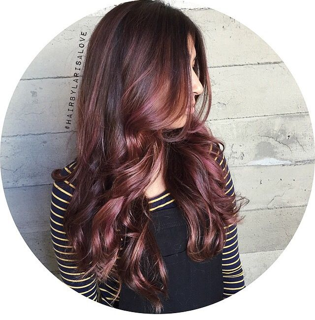 how to get rose brown hair
