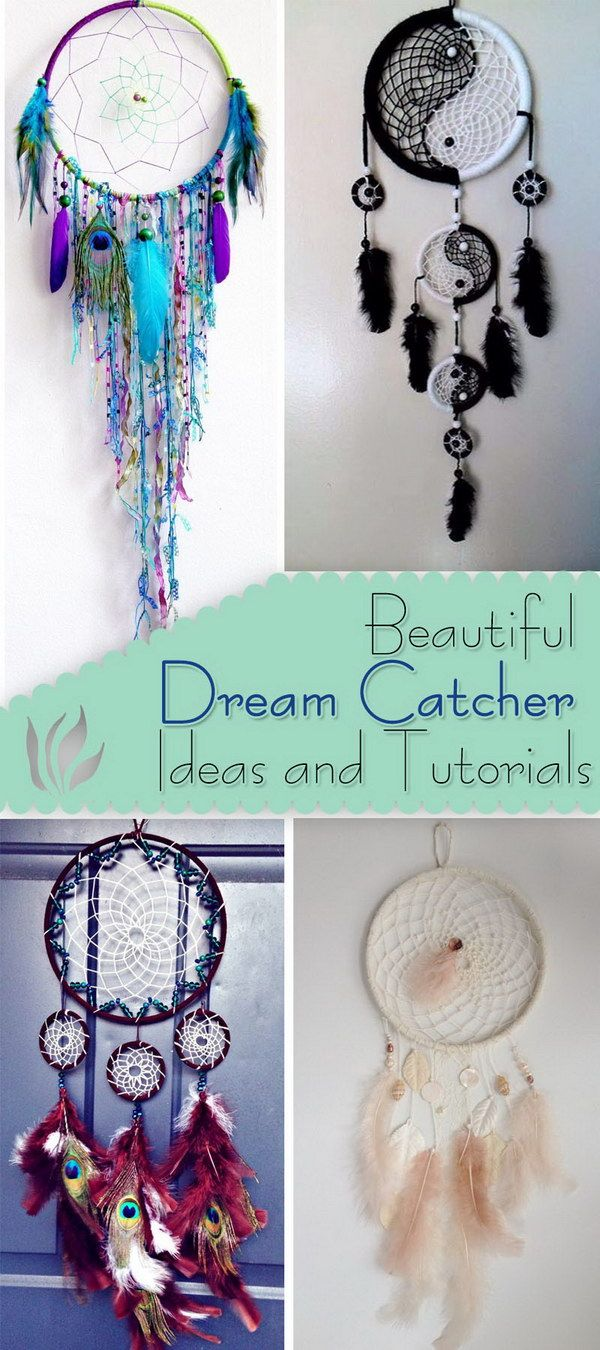 Diy bedroom decor ideas pinterest - Beautiful Dream Catcher Ideas And Tutorials