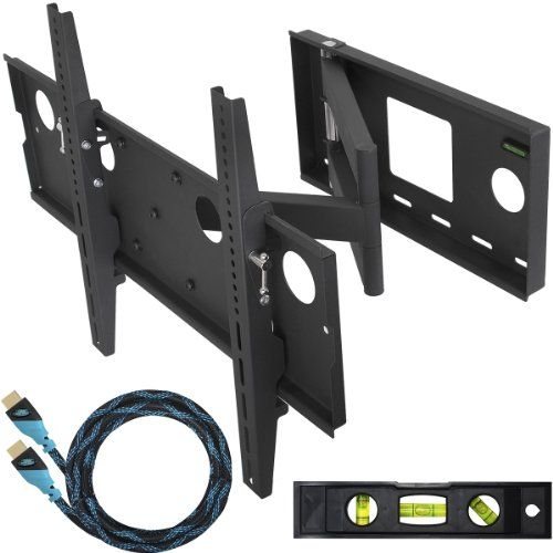"the best Cheetah Mounts APSAMB 32-55"" LCD TV Wall Mount Bracket with Full Motion Swing Out TiltArticulation Arm, Monitor Display, Tv Walls, Cheetahs Mount, Flats Panels, Flats Screens, Display Include, Mount Brackets, Tv Wall Mount"