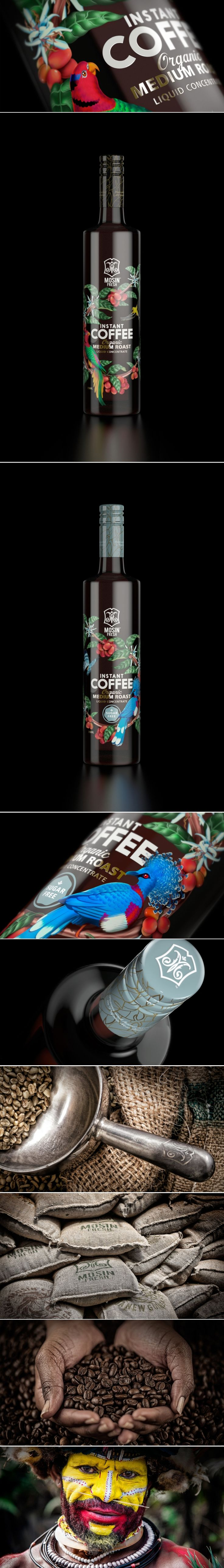 Mosin Fresh Coffee Concentrate — The Dieline | Packaging & Branding Design & Innovation News