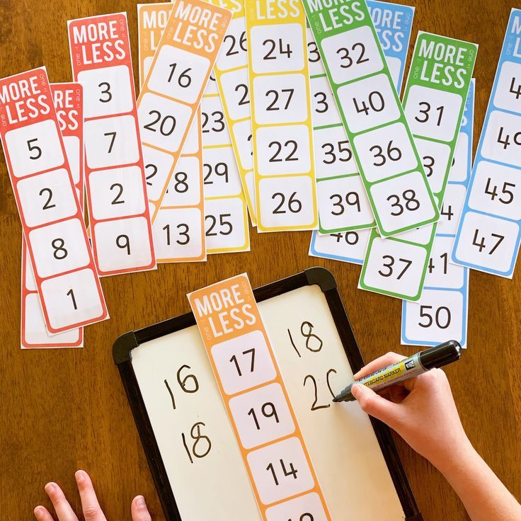 One, more, ten less, ten numbers less – A smart monkey