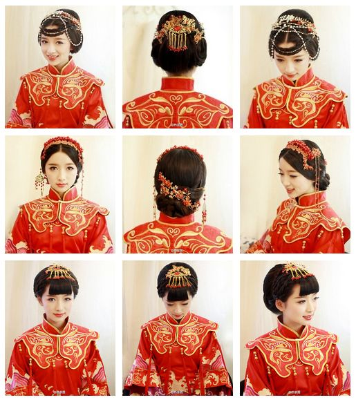 Chinese hairstyles                                                                                                                                                                                 More