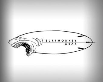 Surfmonkey Gear Decal - Mahi. Made from UV resistant vinyl. Decal is 5 wide - Car Decal   Surfmonkey Gear Decals Stickers Car Decal Glass Decal Window Decal laptop personalized decals custom stickers boat decal graphic  Mahi Mahi