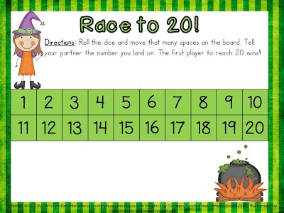 Number Identification Freebie Game! :)