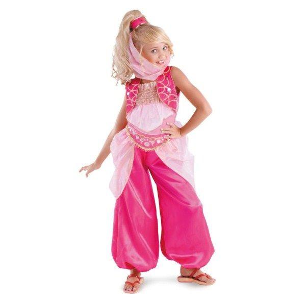 アラビア Barbie Genie ピンク 衣装、コスチューム 子供女性用