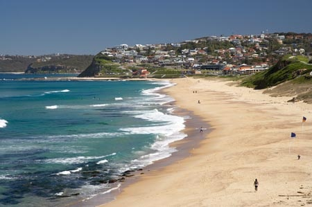 Get some time in the sun and the sand at Merewether beach, Newcastle, Australia - my home beach!