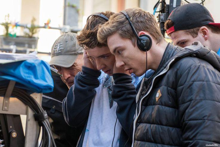 Roman (Mitte) und Heiko Lochmann (rechts) mit Co-Regisseur Tomas Erhart