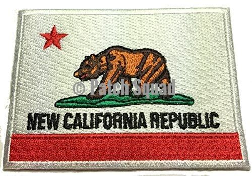 Iron on New California Republic Flag - By Patch Squad