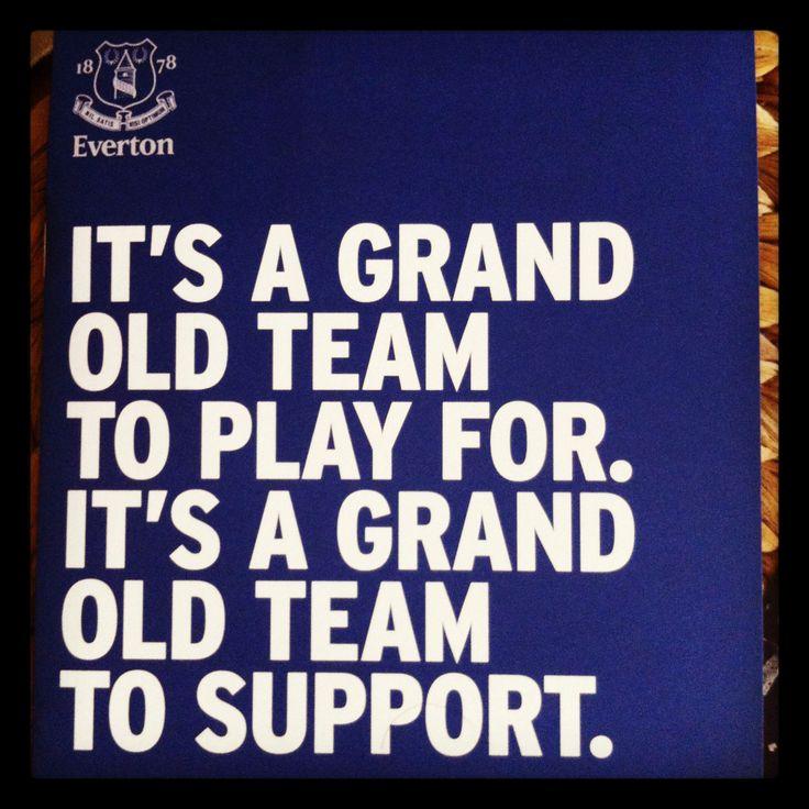 Everton, aren't we?